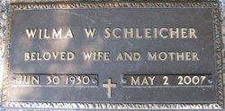 Wilma Rosebud <i>Warren</i> Schleicher