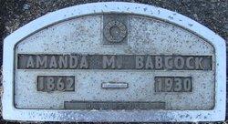 Amanda Marion <i>Burdick</i> Babcock