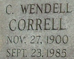 C. Wendell Correll