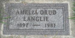 Amelia <i>Orud</i> Langlie