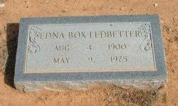 Edna Ester <i>Alexander</i> Box-Ledbetter