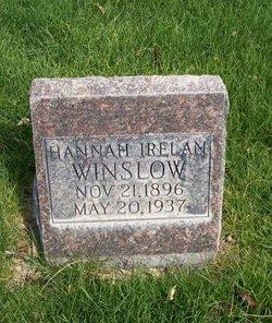 Hannah <i>Irelan</i> Winslow