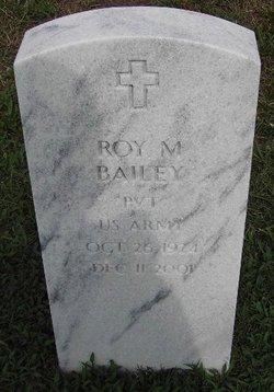 Pvt Roy Moril Bailey