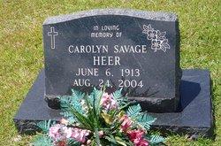 Carolyn <i>Savage</i> Heer