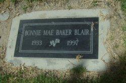 Bonnie Mae <i>Baker</i> Blair