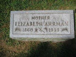 Elizabeth Mary <i>Schulkers</i> Ahrman