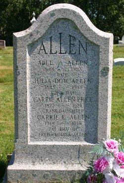 Julia <i>Dow</i> Allen