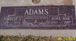 Rosa Mae <i>Auten</i> Adams