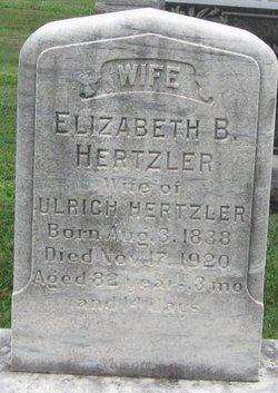 Elizabeth B Hertzler