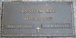 Annie Mae Mae <i>Pevy</i> Ake