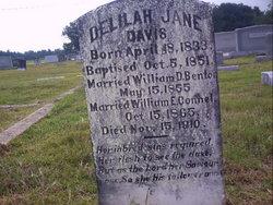 Delilah Jane <i>Davis</i> Connel