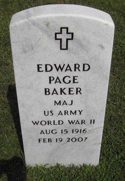 Maj Edward Page Baker