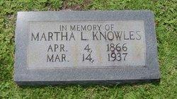 Martha L. Knowles