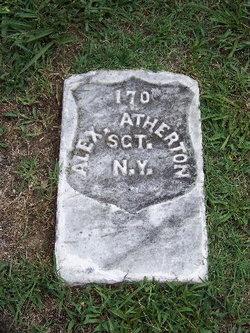 Sgt Alexander H. Atherton