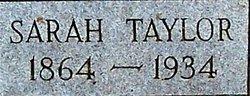 Sarah <i>Taylor</i> Cadle