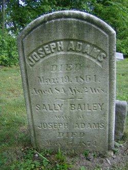 Sally <i>Bailey</i> Adams