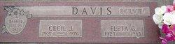 Cecil J. Davis