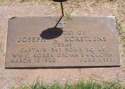 Capt Joseph L. Korstgens