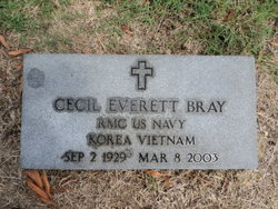 Cecil E Bray