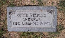 Ottie <i>Staples</i> Andrews