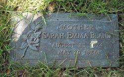Sarah Emma <i>Harmon</i> Bland