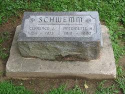 Antoinette Helen <i>Dvorak</i> Schwemm