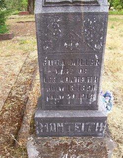 Etta Delilah <i>Miller</i> Monteith