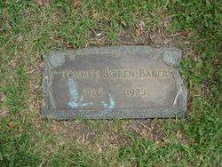 Tommye <i>Boren</i> Baker