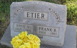 Effie Vay <i>Baggs</i> Etier
