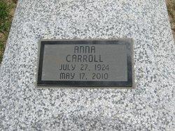 Anna V Annie <i>Dunbar</i> Carroll