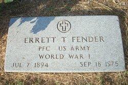 Errett T Fender