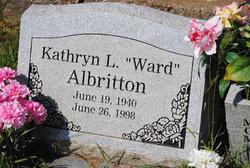 Kathryn L. <i>Ward</i> Albritton