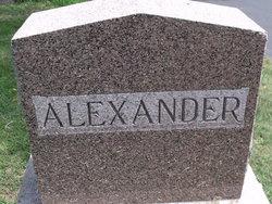 Caroline Sarah Carrie <i>Kane</i> Alexander