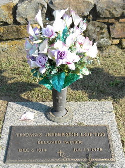 Thomas Jefferson Tom Loftiss