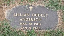Lillian <i>Dudley</i> Anderson