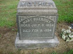 Mary <i>Dillinger</i> Sherrick
