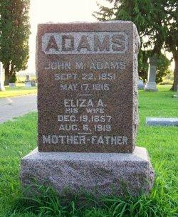 Eliza A Adams