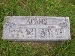 Cleta Mae <i>Mountain</i> Adams