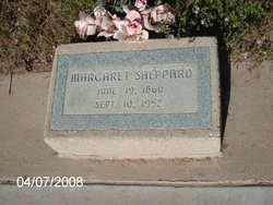 Margaret Ann <i>Miller</i> Pool Sheppard