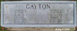 Georgia H Gayton