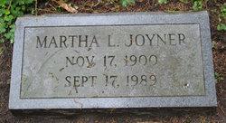 Martha Thomas <i>Lassiter</i> Joyner