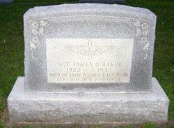 Sgt James O Baker