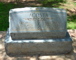 Faustina G. Acosta