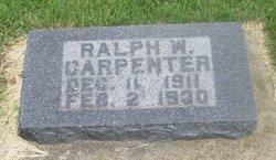 Ralph W Carpenter