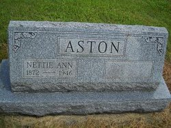 Nettie Ann <i>Mackey</i> Aston