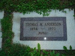 Thomas M Anderson
