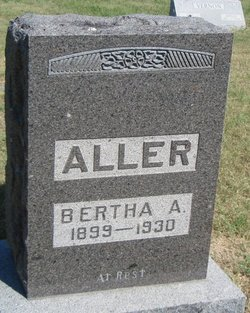 Bertha Ann <i>Rist</i> Aller