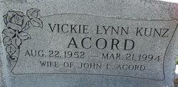 Vickie Lynn <i>Kunz</i> Acord