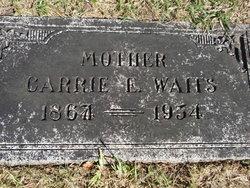 Carrie E <i>Roeback</i> Waits