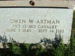 Owen Willis Artman